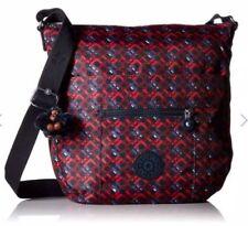 Kipling Women s Crossbody Bag Bailey Printed Saddle Bag Groovylines dc70ddfe421f1