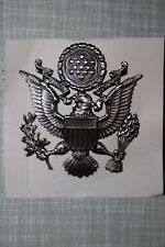 ORIGINAL ISSUE USAF US AIR FORCE AIRFORCE OFFICER'S CAP BADGE