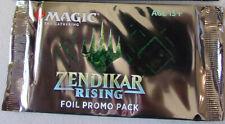 MTG Zendikar Rising Foil Promo Booster Pack X3