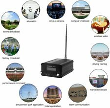 ST-7C FM Transmitter Mini Radio Stereo Station Broadcast PLL LCD with Antenna
