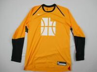 NEW Nike Utah Jazz - Yellow Dri-Fit Long Sleeve Shirt (Multiple Sizes)