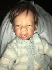 Kymberli H. Durden Baby Reborn Doll AEL 2005 Newborn Boy Brown Hair Numbered 414