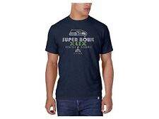 Men's XXL SEATTLE SEAHAWKS NFL Football SUPERBOWL XLIX Bound Scrum T Shirt 47