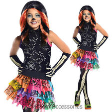 CK186 Monster High Skelita Calaveras Child Fancy Dress Girl Book Week Costume