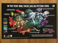 Space Station Silicon Valley N64 Nintendo 64 1998 Vintage Print Ad/Poster Art