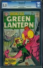 Showcase 24 CGC 5.5 Silver Age Key DC Comic 3rd Green Lantern L@@K