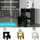 CLEARANCE Dressing Table With Mirror Stool Jewellery Cabinet Makeup Storage Desk