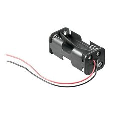_ Batteriehalter mit Anschlusskabel 4x AA / 4x Mignon Batterie Batteriefach