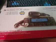 RADIO CB ALBRECHT AE 5800 - AM/FM/BLU - SSB - NEUF EN BOITE