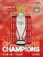 Liverpool v Chelsea 18th July 2020 Premier League Official Matchday Programme