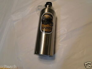 New Orleans Saints NFL 25.5-Oz Stainless Steel Water Bottle, BPA Free,Free Ship
