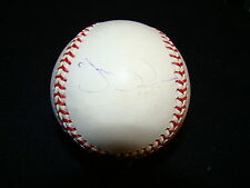 Jim Edmonds Autographed Omlb St California Anaheim Angels & St Louis Cardinals