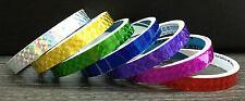 7x PRISM Tape CHOOSE YOUR OWN COLOURS Hoola Hoop Acrobat Tape Iridescent Sparkle