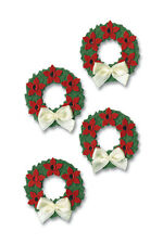 # Christmas Wreaths dimentional stickers by Paper Bliss