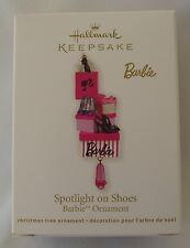 Hallmark 2011 Barbie Spotlight On Shoes Shopping New Christmas Keepsake Ornament