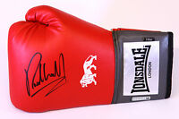 New Richie Woodhall 16oz Red Lonsdale Boxing Glove