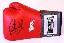 Nuevo Richie Woodhall 16oz Rojo Lonsdale Guante De Boxeo