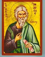 Hl.Andreas Ikone Icon Ikona Icoon Ikonen Saint Andrew Andries икона Icone Icono