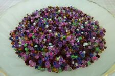 50g Particoloured inside Rocaille Glass Seed Bead Mix 8/0