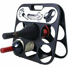 Chefs Basics Select Hw4299 Wine Rack w/ - Bottle Opener, Stopper & Foil Cutter