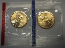 2006-P and 2006-D Gem BU Sacagawea Native Dollars in Original Mint Cello Packs