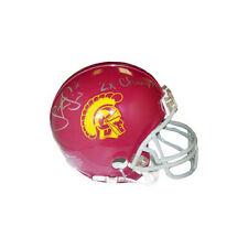 Steve Smith signed USC Trojans Replica Mini Helmet 2x Champs