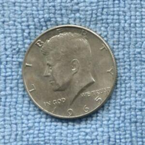 1965 KENNEDY SILVER Half Dollar USA United States America  Coin  -135