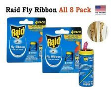 Raid Fly Ribbon, Outdoor & Indoor Fly Traps, Effective for Kitchen & Food Area