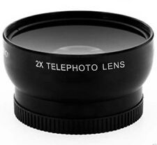 Tele Telephoto Lens for Sony HDRCX11 HDR-CX12E HVR-HD1000P HXR-MC50U HXR-MC50