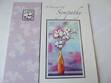 "Condolence/Sympathy Card ""A Message Of Sympathy"". Free P&P"