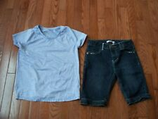 Lots of 2 Pcs Comfy Girls Outfits, Size 12, Pre-owned