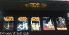 WDW Star Wars Weekends 2005 - Jumbo Pin Set - Event Logos