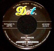 """JOHNNY MADDOX """"ASIA MINOR/Shell Happy"""" DOT 45-16185 (1961) 45rpm SINGLE"""