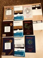 Sir-tech Wizardry: The 3 Part Set Video Game IBM PC Knight Of Diamonds & 2 More