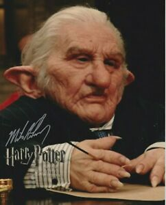 """SALE!  Michael Henbury 10"""" x 8"""" photo signed in person - Harry Potter - Q049"""