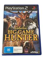 Cabela's Big Game Hunter 2008 PS2 PAL *Complete*