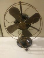 "Antique Fan Fort Wayne Electrical Works ""GE"" FWEW Nice Works"