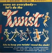 """Fats &The Cheesemen  Come On Everybody Let's Do The Twist  12"""" LP 33rpm  GGL0117"""