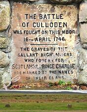 Scotland - CULLODEN BATTLEFIELD - Travel Souvenir FLEXIBLE Fridge MAGNET