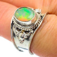 Ethiopian Opal 925 Sterling Silver Ring Size 8 Ana Co Jewelry R41811F