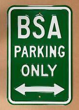 BSA Parking Only - Steel Parking Sign