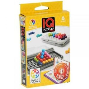 Smart Games IQ Puzzler Pro - One Player 2D and 3D Brain Teaser