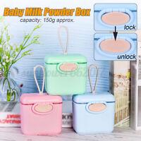 Baby Milk Powder Portable Formula Container Food Storage Box Infants Feeding Box