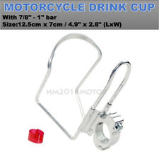 Silver Drink Cup Holder For Harley Street Tour Electra Road Glide King