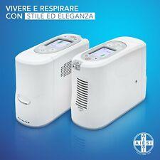 AIESI Concentratore di ossigeno portatile 1 litro con batteria ricaricabile P2