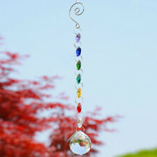 Glass Crystal Ball Prism Rainbow Maker Chakra Hanging Suncatcher Window Decor