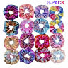 8x Shiny Metallic Hair Scrunchie Pferdeschwanzhalter Elastic Hair Tie Bands Yd