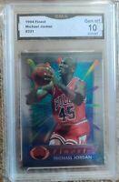 Michael Jordan Topps Finest 1994 #331 Graded GMA 10 Gem Mint! 🔥