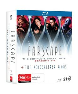 BRAND NEW Farscape - Complete Collection (Blu-Ray, 21-Disc Set) *PREORDER