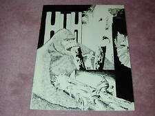 HUH fanzine # 7 - King Kong cover, Harryhausen, Animation, Bela Lugosi